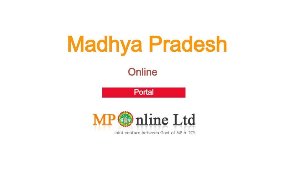 MPOnline Portal Madhya Pradesh